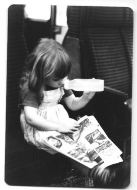 Sarah Underwood aged 3