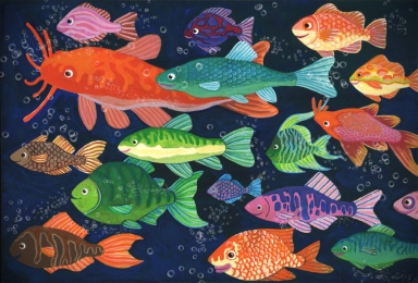 Fishies w bubbles sm
