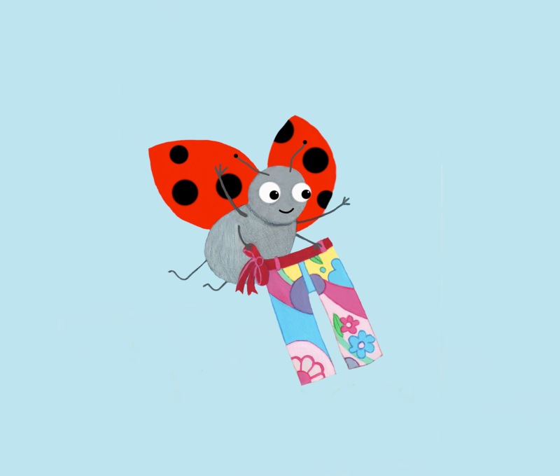 Ladybird and funky pants