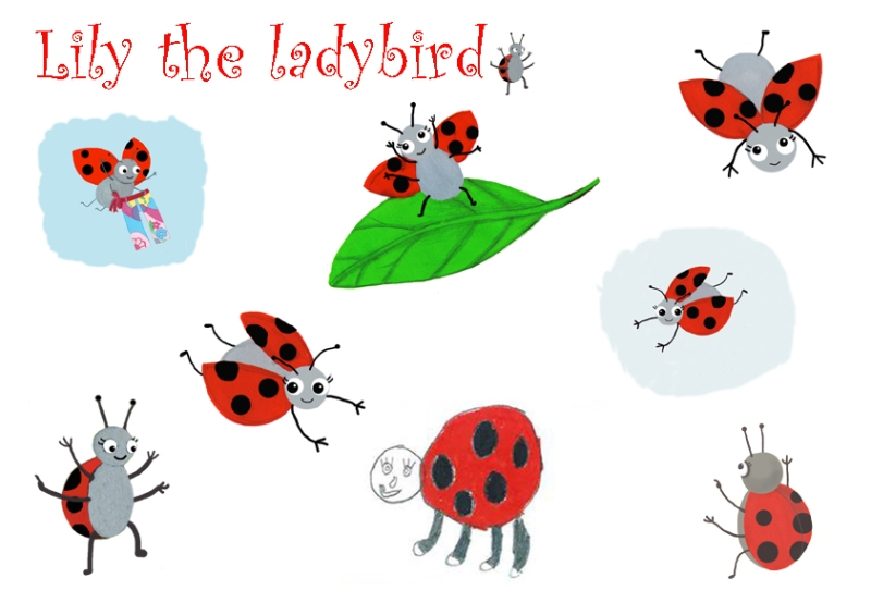 Lily the ladybird sm