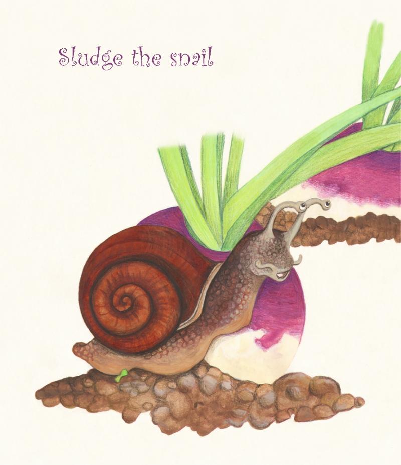 Sludge the snail sm