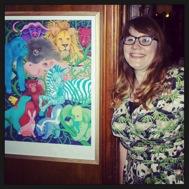 Sarah Underwood at Zoo Exhibition